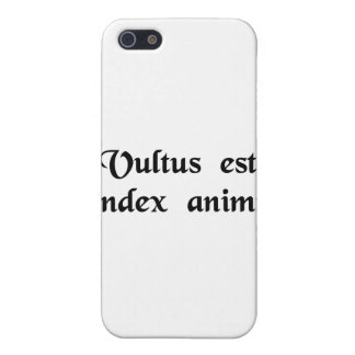 The face is the index of the soul. iPhone 5 covers