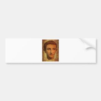 The Face of Caligula Bumper Sticker