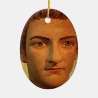 The Face of Caligula Ceramic Ornament
