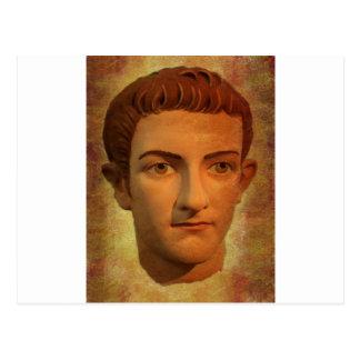 The Face of Caligula Postcard