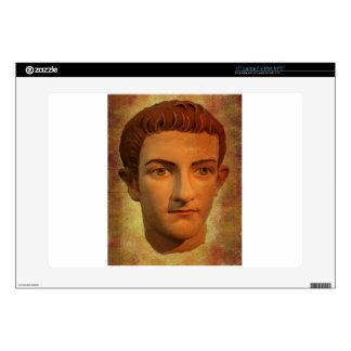 "The Face of Caligula Skins For 15"" Laptops"