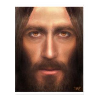 The face of Jesus Postcard
