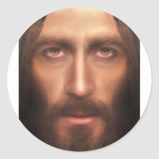 The face of Jesus Sticker
