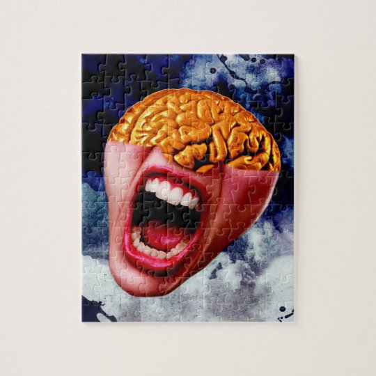 The Face of Madness Jigsaw Puzzle