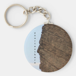 The Face of Monte Falcone, Italy Keychain