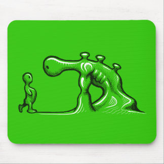 The Face Off mousepad