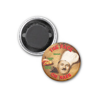 The Face on Mars 1 Inch Round Magnet