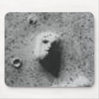 The FACE On MARS-_-Cydonia Mensae Mouse Pad