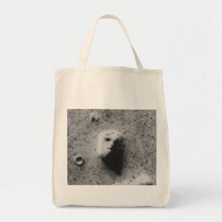 The FACE On MARS-_-Cydonia Mensae Tote Bag