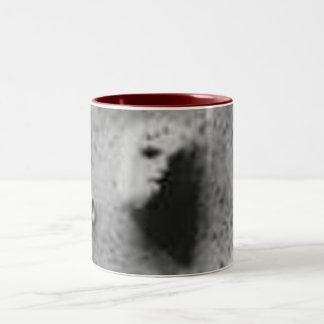 The FACE On MARS-_-Cydonia Mensae Two-Tone Coffee Mug