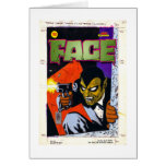 The FACE Original Art by Alex Toth Greeting Card