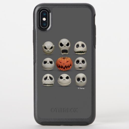 The Faces of Jack Skellington the Pumpkin King OtterBox Symmetry iPhone XS Max Case