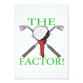The Factor Card