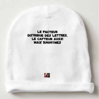 THE FACTOR DISTRIBUTES LETTERS, THE SNEAK TOO BABY BEANIE