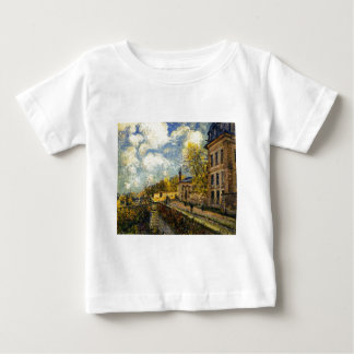 The Factory at Sevres by Alfred Sisley Shirts