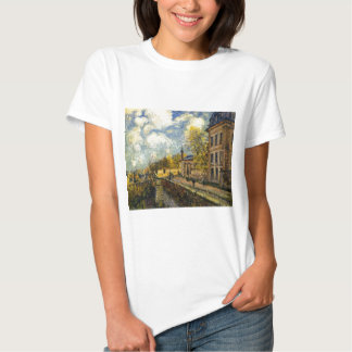 The Factory at Sevres by Alfred Sisley Tshirts
