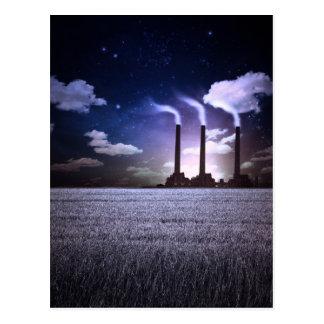 The Factory Night Postcard