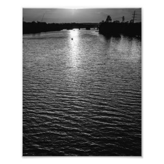 The fading light photo print