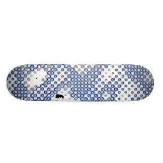 The Fading Skateboard Deck