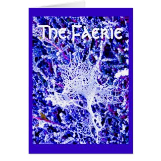 The Faerie - Spider Web Greeting Cards