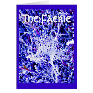 The Faerie - Spider Web Card