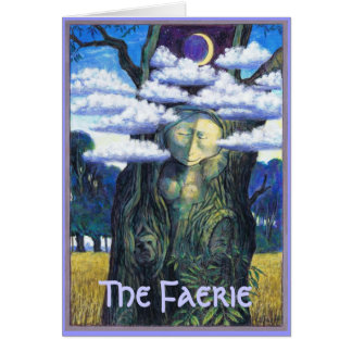 The Faerie Spirit in Tree Card