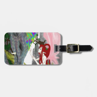 The Faerie & The Dragon Luggage Tags