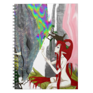 The Faerie The Dragon Spiral Notebooks