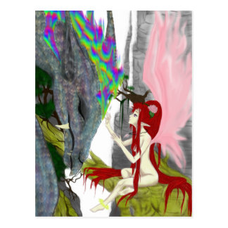 The Faerie & The Dragon Post Cards