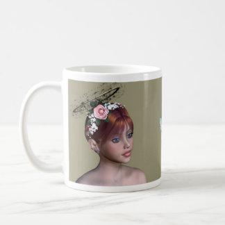 The Faerys Collection I - A Classic White Coffee Mug