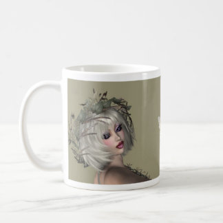 The Faerys Collection I - F Classic White Coffee Mug