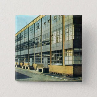The Fagus Shoe Factory, designed by Walter Gropius Pinback Button
