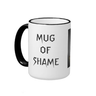 The Fail Snail Mug of Shame