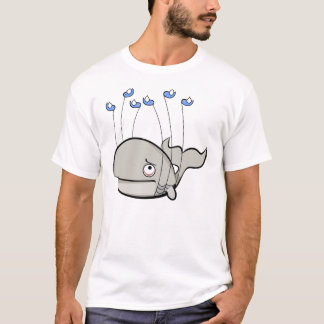 The failwhale is occupying my mind T-Shirt