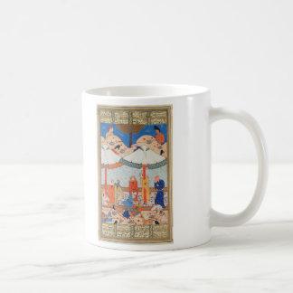 The Fainting of Laylah and Majnun Nizami's Khamsah Classic White Coffee Mug