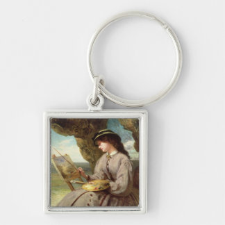 The Fair Amateur, 1862 Keychain