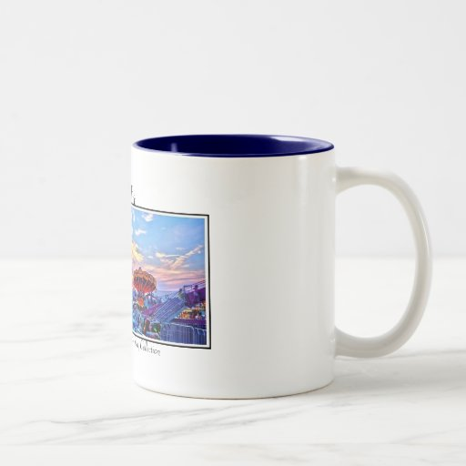 The Fair, Ferroggiaro-du Bois Gall... Two-Tone Coffee Mug