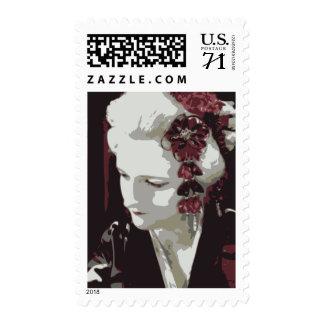 the fair haired geisha postage