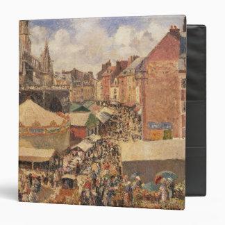The Fair in Dieppe, Sunny Morning, 1901 Vinyl Binders