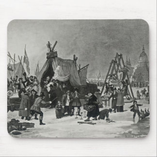 The Fair on the Thames Mouse Pad