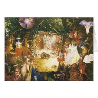 The Faires Banquet Birthday Card