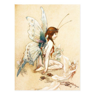 The Fairies Brought Her A Pair of Wings Postcards