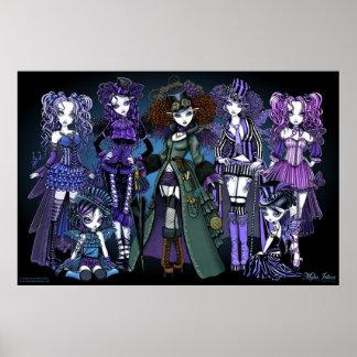 The Fairies Couture Myka Jelina Fantasy Art Poster