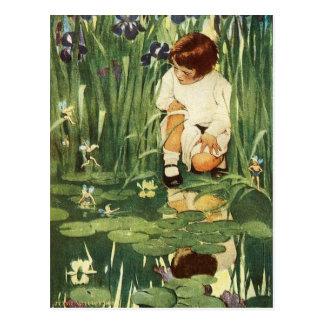 The Fairies Picnic Postcard