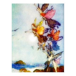The Fairies postcard