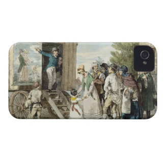 The Fairs: The Show, c.1821 (colour litho) iPhone 4 Cover