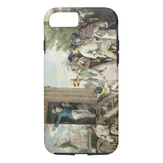 The Fairs: The Show, c.1821 (colour litho) iPhone 8/7 Case