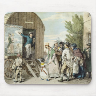 The Fairs: The Show, c.1821 (colour litho) Mouse Pad