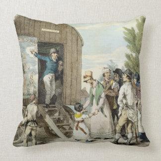 The Fairs: The Show, c.1821 (colour litho) Pillows