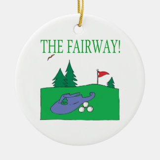 The Fairway Christmas Tree Ornaments